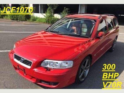 Volvo V70 Estate R 300 BHP RARE RED AND TAN COMBO
