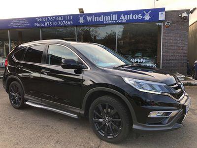 Honda CR-V SUV 1.6 i-DTEC Black Edition 4WD (s/s) 5dr