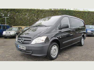 Mercedes-Benz Vito Panel Van 2.1 116CDI Compact Panel Van SWB 5dr (EU5)