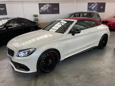 Mercedes-Benz C Class Convertible 4.0 C63 V8 BiTurbo AMG S (Premium) Cabriolet SpdS MCT (s/s) 2dr