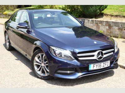 Mercedes-Benz C Class Saloon 1.6 C200d Sport (Premium) G-Tronic+ (s/s) 4dr