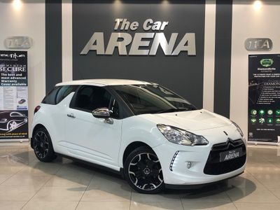 Citroen DS3 Hatchback 1.6 HDi Hatchback 3dr Diesel Manual