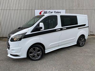Ford Transit Custom Combi Van 2.2 TDCi 290 Double Cab-in-Van L2 H1 5dr