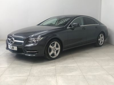 Mercedes-Benz CLS Coupe 2.1 CLS250 CDI BlueEFFICIENCY AMG Sport 7G-Tronic Plus 4dr