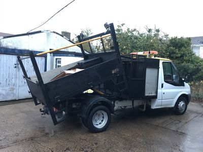 Ford Transit Tipper 2.4 TDCi Duratorq 350 M Chassis Cab 2dr (DRW, MWB)