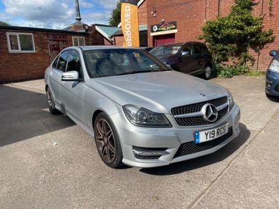 Mercedes-Benz C Class Saloon 2.1 C220 CDI BlueEFFICIENCY AMG Sport Plus 7G-Tronic Plus 4dr (Map Pilot)