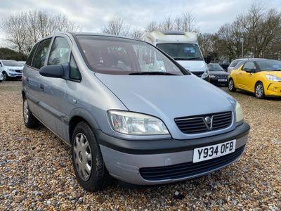 Vauxhall Zafira MPV 1.6 i 16v Club 5dr (a/c)