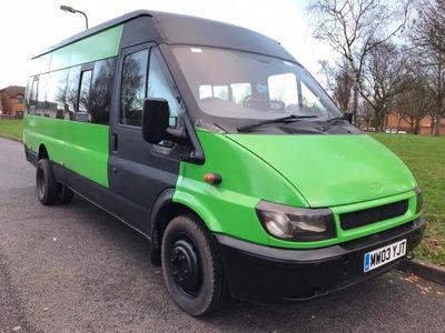 Ford Transit Minibus 2.4 TD LWB MINIBUS 3.5 TON TWIN WHEELS