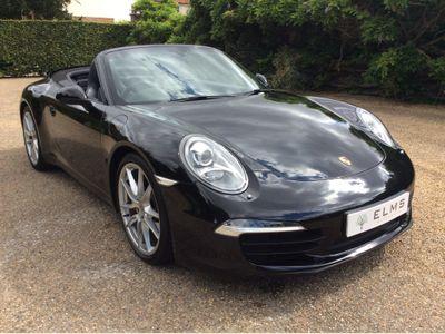 Porsche 911 Convertible 3.4 991 Carrera PDK (s/s) 2dr EU5