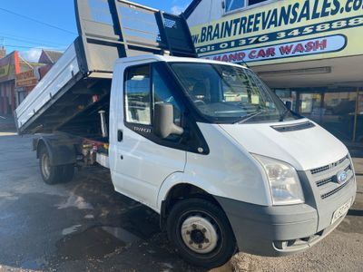 Ford Transit Tipper 2.4 TDCi 350 1-Way Tipper RWD L2 2dr