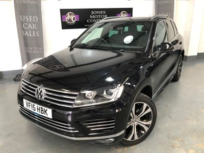 Volkswagen Touareg SUV 3.0 TDI V6 BlueMotion Tech R-Line Tiptronic 4WD (s/s) 5dr