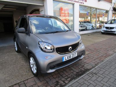 Smart fortwo Convertible 1.0 Passion Cabriolet Twinamic (s/s) 2dr