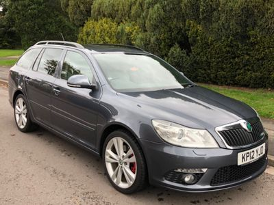 SKODA Octavia Estate 2.0 TDI CR vRS 5dr
