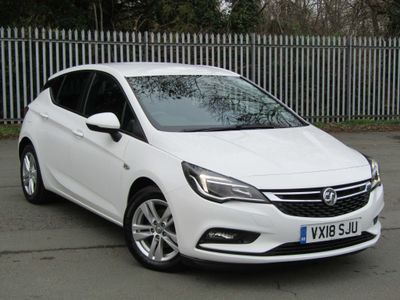 Vauxhall Astra Hatchback 1.6 CDTi ecoTEC BlueInjection Design (s/s) 5dr