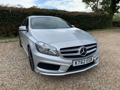 MERCEDES-BENZ A CLASS Hatchback 1.8 A180 CDI BlueEFFICIENCY AMG Sport 7G-DCT 5dr