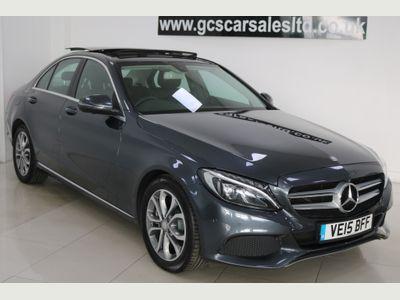 Mercedes-Benz C Class Saloon 2.1 C300dh Sport (Premium) G-Tronic+ (s/s) 4dr
