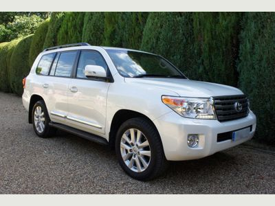 TOYOTA LAND CRUISER SUV 4.5 D-4D SUV 5dr Diesel Automatic 4x4 (TPMS) (250 g/km, 272 bhp)