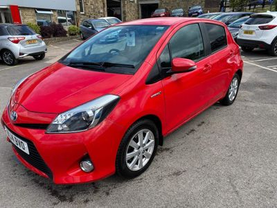 Toyota Yaris Hatchback 1.5 VVT-h Icon+ 5dr