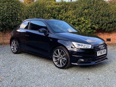 Audi A1 Hatchback 1.4 TFSI CoD Black Edition S Tronic (s/s) 3dr