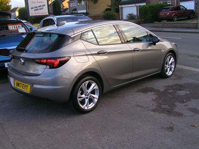 Vauxhall Astra Hatchback 1.0i Turbo ecoFLEX SRi (s/s) 5dr