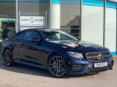 Mercedes-Benz E Class Coupe 3.0 E53 EQ Boost AMG SpdS TCT 4MATIC+ (s/s) 2dr