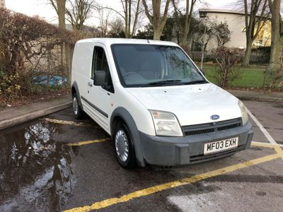 Ford Transit Connect Panel Van 1.8 TDCi T200 SWB Low Roof 4dr