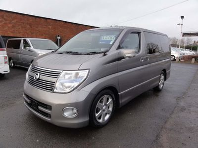 Nissan Elgrand MPV HIGHWAY STAR S3 FRESH IMPORT