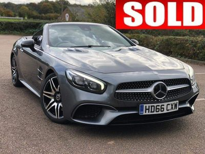 Mercedes-Benz SL Class Convertible 3.0 SL400 V6 AMG Line Roadster G-Tronic+ (s/s) 2dr