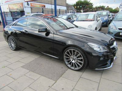 Mercedes-Benz E Class Coupe 2.1 E250 CDI AMG Line 7G-Tronic Plus 2dr