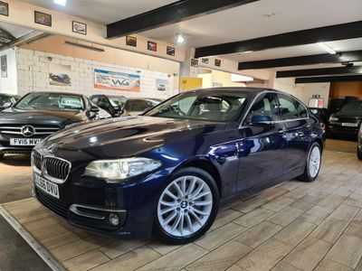 BMW 5 Series Saloon 3.0 535d Luxury 4dr