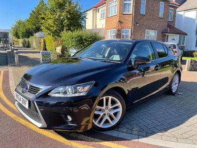 Lexus CT 200h Hatchback 1.8 200h Luxury CVT (s/s) 5dr
