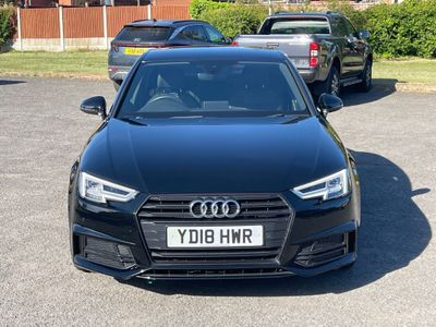 Audi A4 Saloon 1.4 TFSI Black Edition (s/s) 4dr