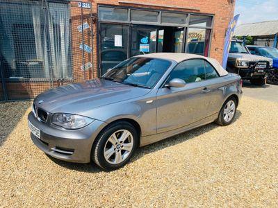 BMW 1 Series Convertible 2.0 118d SE Auto 2dr