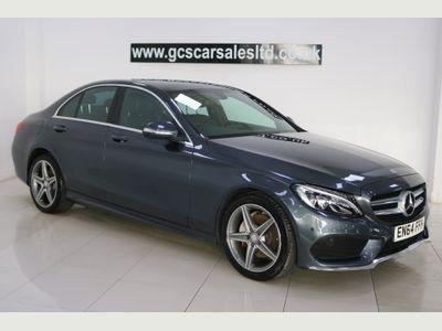 Mercedes-Benz C Class Saloon 1.6 C200 CDI BlueTEC AMG Line (s/s) 4dr
