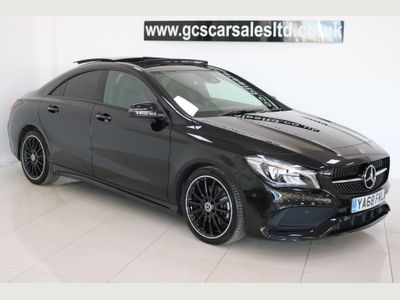 MERCEDES-BENZ CLA CLASS Coupe 2.0 CLA220 AMG Line Night Edition (Plus) 7G-DCT 4MATIC (s/s) 4dr