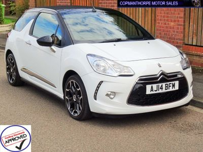 Citroen DS3 Cabrio Convertible 1.6 e-HDi Airdream DStyle Plus Cabriolet 2dr