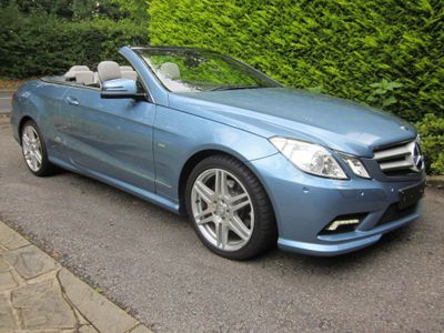 Mercedes-Benz E Class Convertible 3.5 E350 CGI BlueEFFICIENCY Sport Cabriolet G-Tronic 2dr