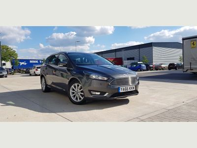 Ford Focus Estate 2.0 TDCi Titanium Powershift (s/s) 5dr