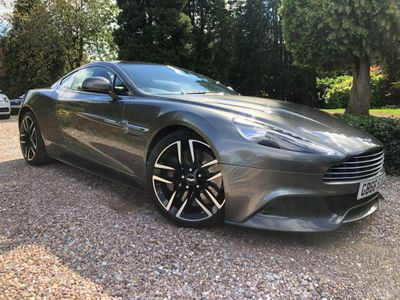 Aston Martin Vanquish Coupe 5.9 V12 Touchtronic III 2dr