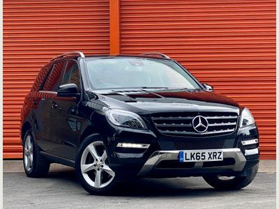 Mercedes-Benz M Class SUV 2.1 ML250 CDI BlueTEC SE (Executive) 7G-Tronic Plus 4MATIC 5dr
