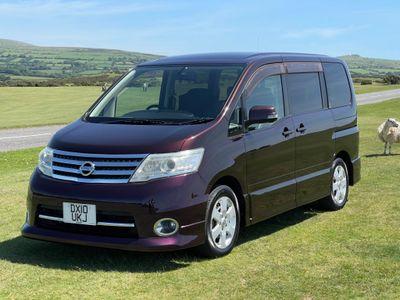 Nissan Serena MPV Highway Star Automatic (8 Seats) 5 DR