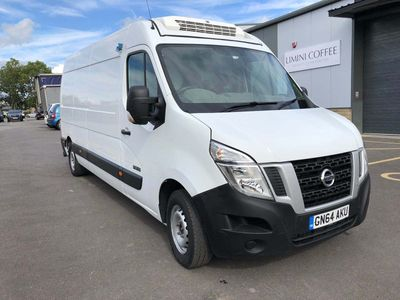 NISSAN NV400 Temperature Controlled 2.3 DCi SE L3H3 3500 (SRW) High Roof Van (FWD) 5dr