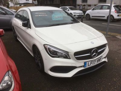 Mercedes-Benz CLA Class Estate 1.6 CLA180 AMG Line Shooting Brake 7G-DCT (s/s) 5dr