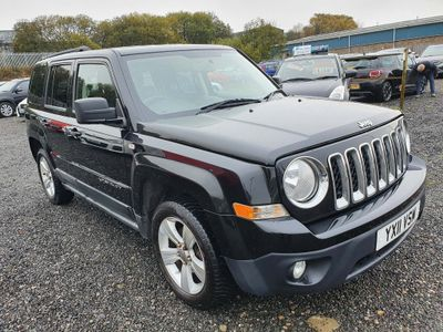 Jeep Patriot SUV 2.2 CRD Sport Plus 4x4 5dr