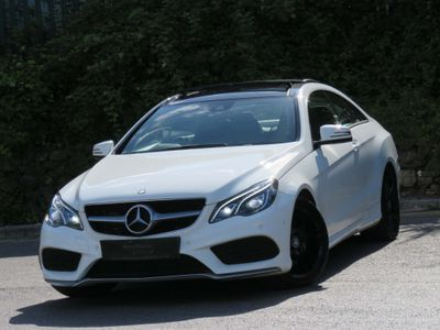Mercedes-Benz E Class Coupe 2.1 E220 CDI BlueTEC AMG Line 7G-Tronic Plus 2dr