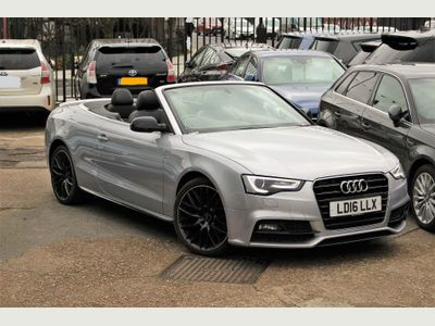 Audi A5 Cabriolet Convertible 1.8 TFSI S line Special Edition Plus Cabriolet Multitronic (s/s) 2dr