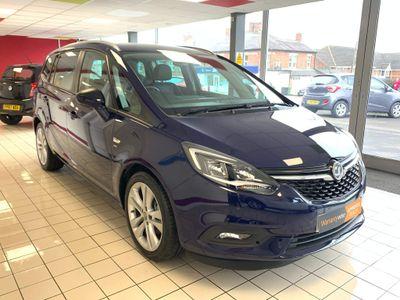 Vauxhall Zafira Tourer MPV 1.4i Turbo SRi Nav Tourer Auto 5dr