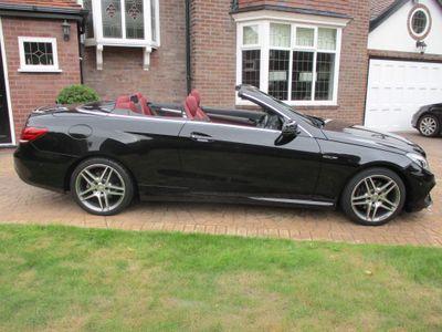 Mercedes-Benz E Class Convertible 2.1 E220 CDI BlueTEC AMG Line Cabriolet 7G-Tronic Plus (s/s) 2dr