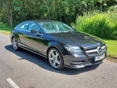 Mercedes-Benz CLS Coupe 3.0 CLS350 BlueEFFICIENCY AMG Sport 7G-Tronic Plus 4dr