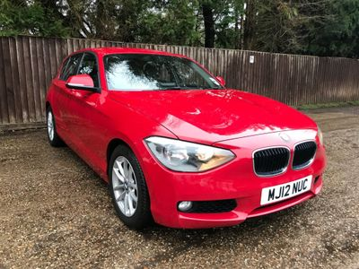 BMW 1 Series Hatchback 2.0 120d SE 5dr